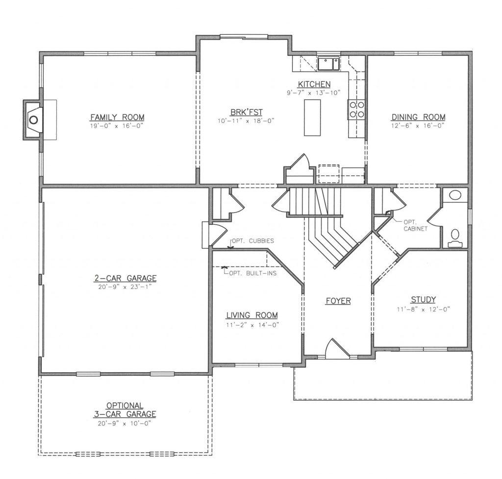 Dutch First Floor Plan
