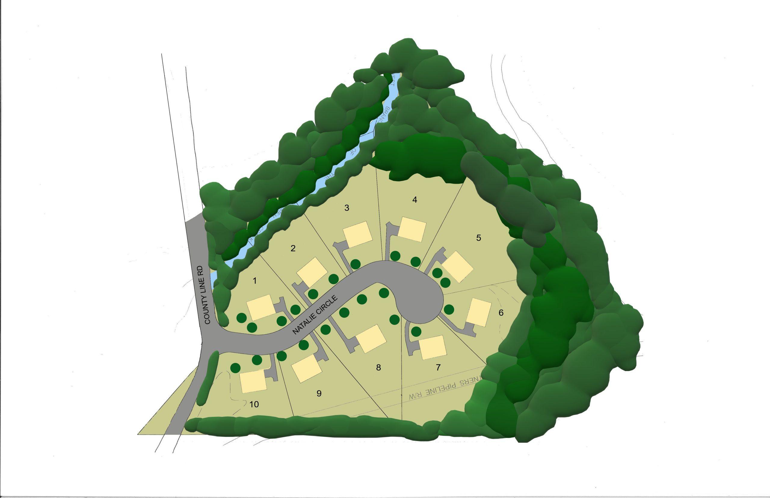 Clover Hill Site Plan