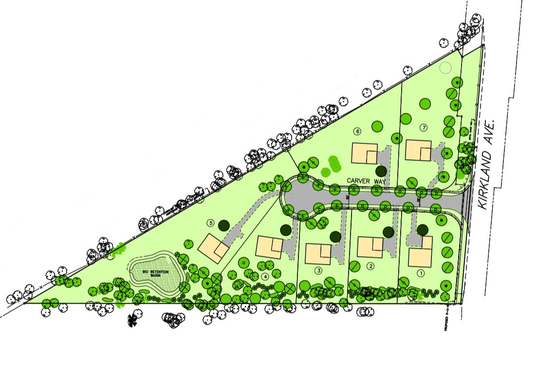 Whiteland Meadows Site Plan