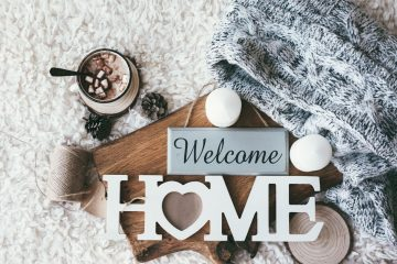welcome home decor
